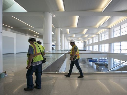 Phoenix Sky Harbor Terminal 3 Post Construction Walk